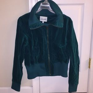 Blue green jacket size L juniors